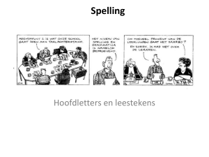 PowerPoint Presentation - Nederlands in de onderbouw