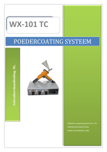 poedercoating systeem