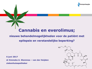 Cannabis-everolimus AVG-symposium