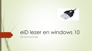eiD lezer en windows 10