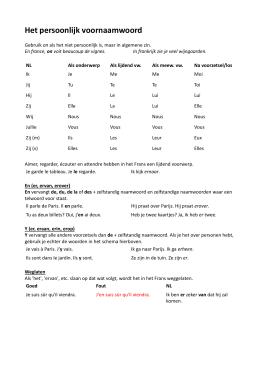 Stappenplan Talen