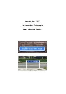 Jaarverslag Laboratorium voor Pathologie 2012