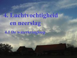 lucht koelen waterdamp