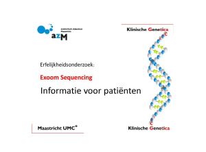 Whole-exome informatiefolder