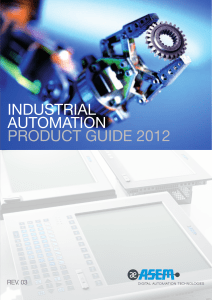 industrial automation product guide 2012