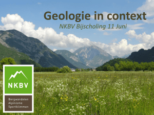 Geologie in context