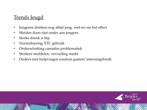 Presentatie Roken, alcohol, drugs en gamen