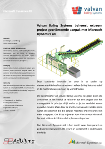 Valvan Baling Systems beheerst extreem project