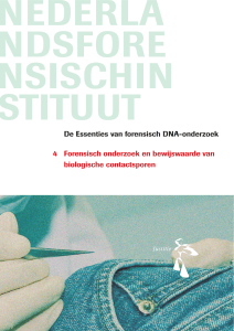 De Essenties van forensisch DNA