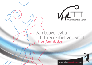 Van topvolleybal tot recreatief volleybal