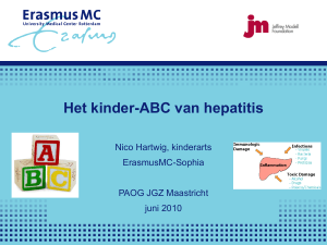 Kinder-ABC Hepatitis Hepatitis A Hepatitis B