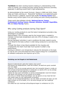 Why using Cooling products during (Top) Sport
