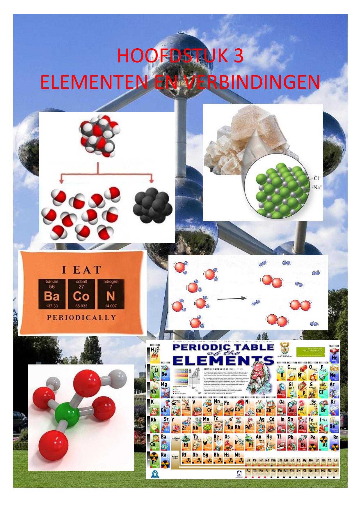 Hoofdstuk 3 Elementen En Verbindingen