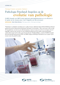 evolutie van pathologie