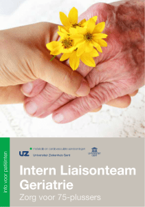Intern Liaisonteam Geriatrie