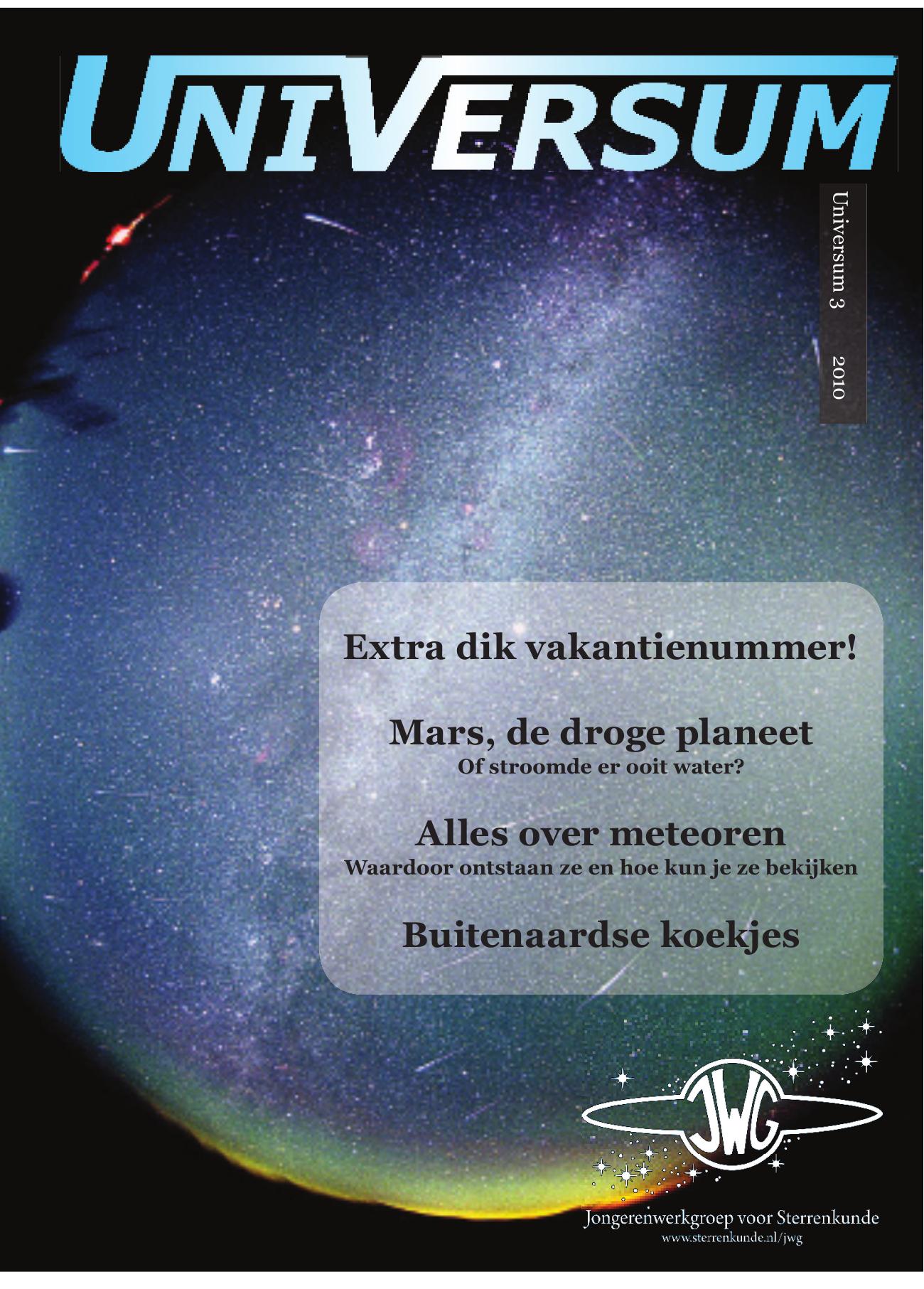 48dcfa91db9 Mars, de droge planeet Alles over meteoren Buitenaardse koekjes