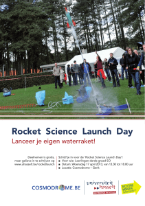 Rocket Science Launch Day