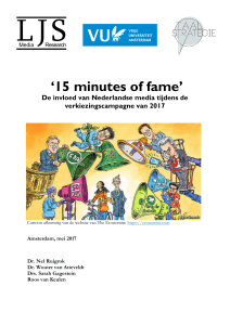 15 minutes of fame - LJS Nieuwsmonitor