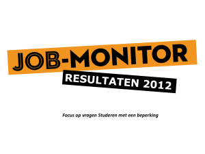 Wat is de Job-monitor - Site