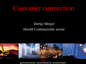 Customer excellence - The Customer Connection