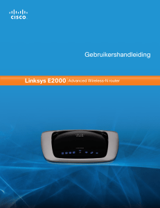Linksys E2000 User Guide