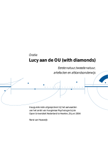Lucy aan de OU (with diamonds)