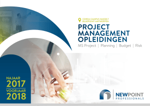 project management opleidingen
