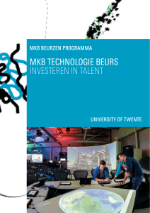 MKB TECHNOLOGIE BEURS INVESTEREN IN TALENT