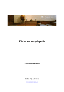 Kleine zen encyclopedie