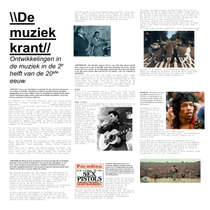 De muziekkrant - WordPress.com