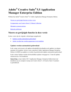 Release Notes: Adobe Application Manager Enterprise Edition