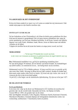 Het verschil in de interpretatie van de shari`a