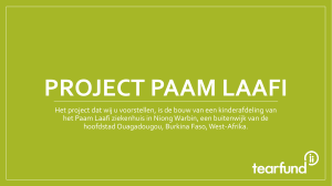 Project Paam Laafi