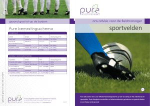 sportvelden - Pure - sensational green
