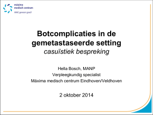 Botcomplicaties in de gemetastaseerde setting