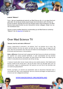 Over Mad Science TV