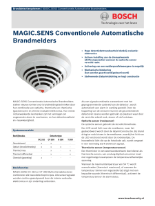 MAGIC.SENS Conventionele Automatische Brandmelders