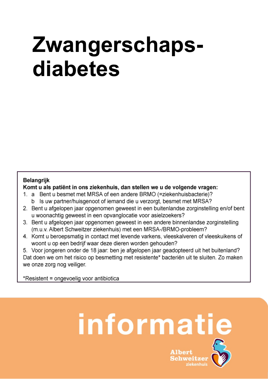 gezonde tussendoortjes zwangerschapsdiabetes