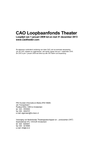 THEATER LOOPBAANFONDS ttw - Cao.szw