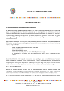 dit document - Institute of NeuroCognitivism