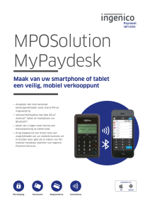 MPOSolution MyPaydesk - Ingenico Payment Services
