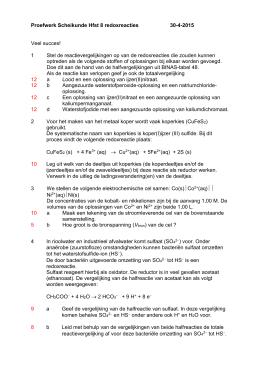 Uitwerkingen voorbeeldproefwerk hoofdstuk 3 for Binas tabel 99
