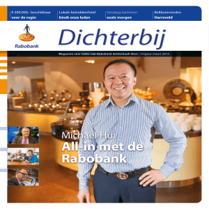 All-in met de Rabobank