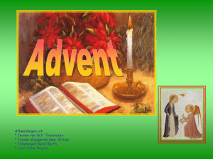 Advent - holyhome.nl