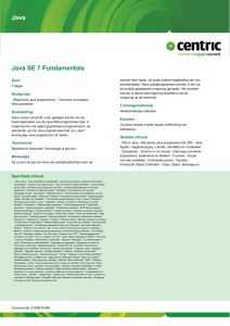 Java Java SE 7 Fundamentals