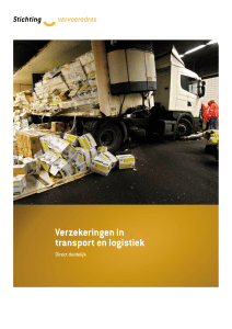 Verzekeringen in transport en logistiek