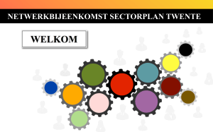 document - Netwerkbijeenkomst sectorplan SW Twente