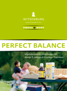 perfect balance - Witsenburg Natural Products