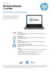 HP Pavilion Notebook 17
