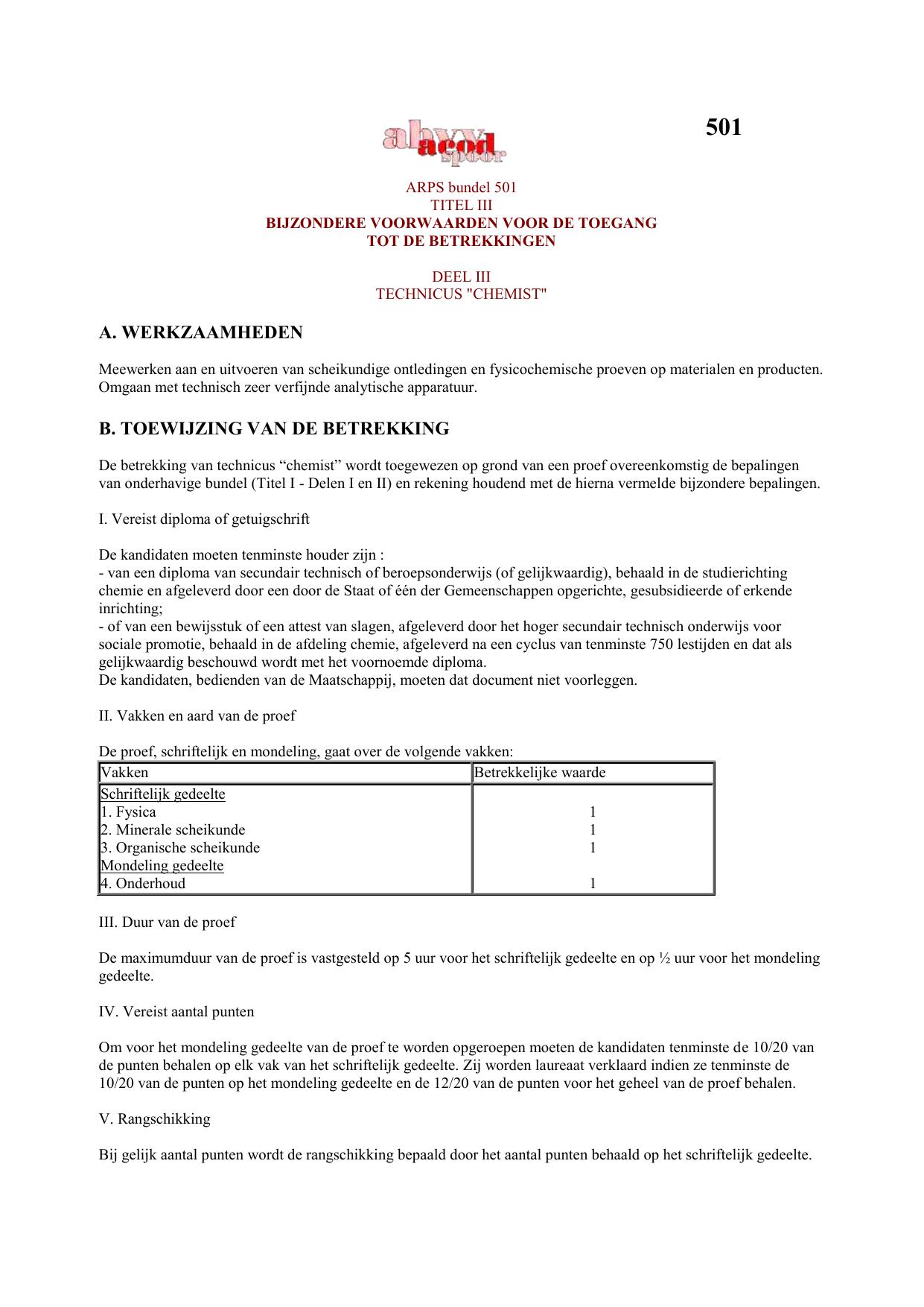 Arps Bundel 501 Fileshare Acod Spoor